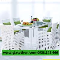 bàn ăn nhựa cao cấp tphcm