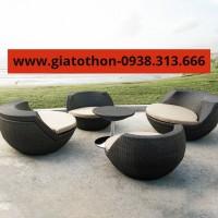 bàn ghế nhựa mây rẻ tphcm