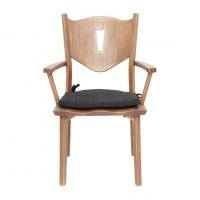ghế gỗ phòng khách sang trọng