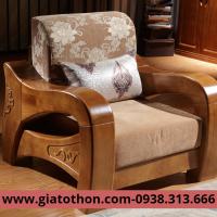 sofa gỗ phòng khách giá rẻ