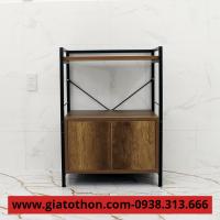 tủ bếp gỗ đẹp hiện đại