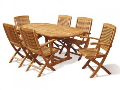 Những mẫu bàn ghế hiện đại cho sân vườn