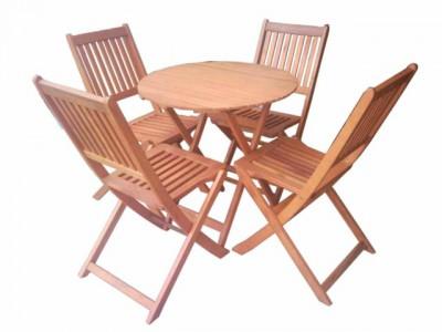 Nơi bán bàn ghế gỗ ngoài trời giá tốt