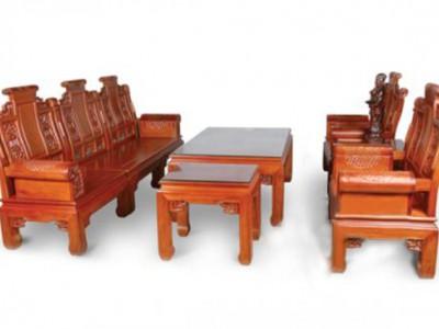 Bàn ghế gỗ thiết kế dành cho phòng khách