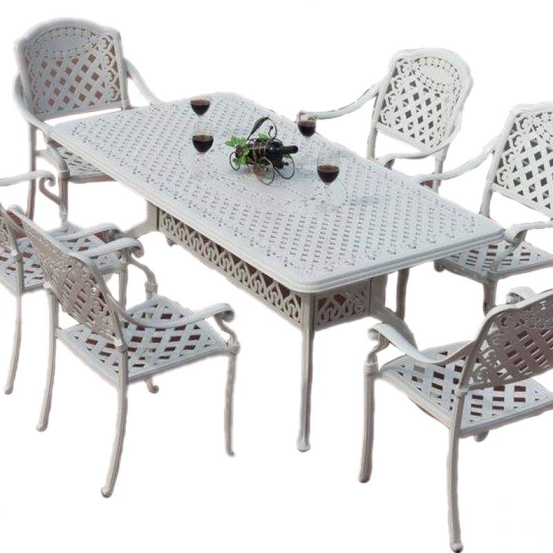 Bộ bàn ghế nhôm đúc cao cấp