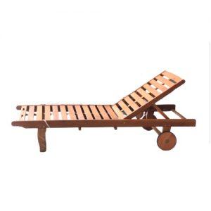 Ghế tắm nắng gỗ 01