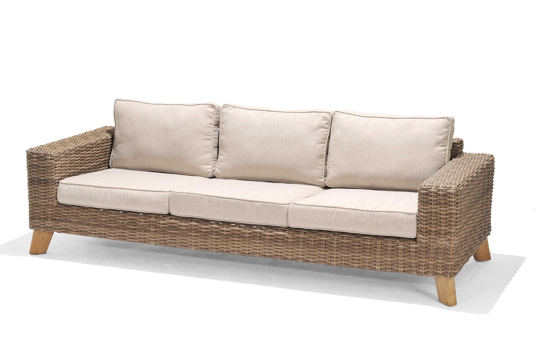 Ghế băng soffa nhựa mây